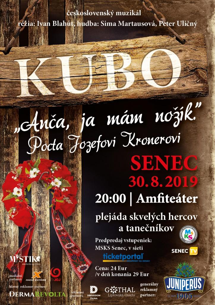 Kubo_Senec - plagát A3