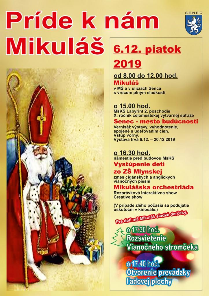 mikulas plagat 2019