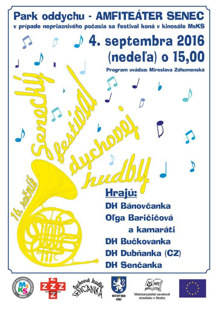 Senecký festival dychovej hudby