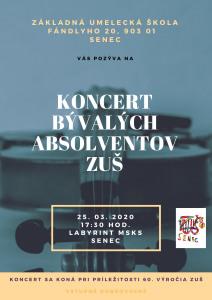 White and Yellow Violin Music Invitation Poster